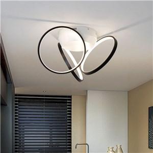 LEDシーリングライト ダイニング照明 リビング照明 子供屋照明 金黒色 3/4/5灯