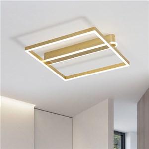LEDシーリングライト リビング照明 ダイニング照明 寝室照明 方形枠 2色
