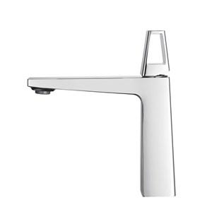 洗面水栓 バス蛇口 冷熱混合水栓 水道蛇口 手洗器水栓 2色 多角形