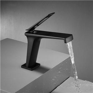 洗面水栓 バス蛇口 冷熱混合栓 立水栓 水道蛇口 3色 H17.5cm