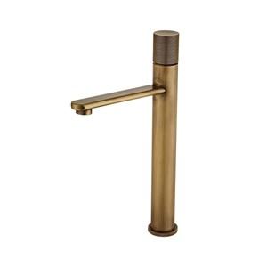 洗面蛇口 バス水栓 冷熱混合栓 水道蛇口 ブラス H33.5cm