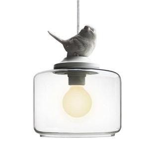ペンダントライト リビング照明 ダイニング照明 玄関照明 鳥 ガラス 1/3灯