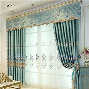 遮光カーテン オーダーカーテン 花柄 ジャカード 高密度 欧米風 寝室 リビング オシャレ(1枚)