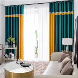 遮光カーテン オーダーカーテン 無地柄 高密度 北欧風 寝室 リビング オシャレ(1枚)