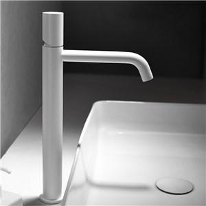 洗面水栓 バス蛇口 冷熱混合栓 立水栓 手洗器蛇口 水栓金具 水道蛇口 白色 H34.2cm
