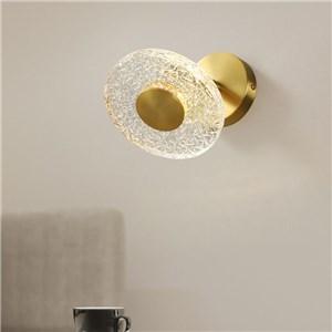 LED壁掛け照明 ブラケット ウォールランプ 玄関照明 寝室照明 円盤型