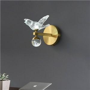 LED壁掛け照明 ブラケット ウォールランプ 玄関照明 寝室照明 鳥型
