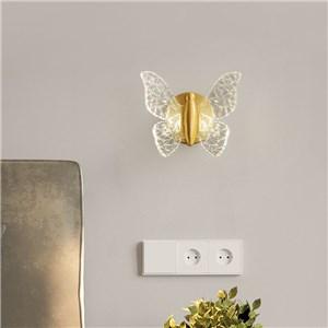 LED壁掛け照明 ブラケット ウォールランプ 玄関照明 寝室照明 蝶型