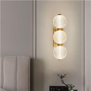 LED壁掛け照明 ブラケット ウォールランプ 玄関照明 寝室照明 つなぎ玉型