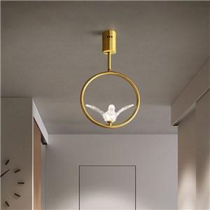 LEDシーリングライト 寝室照明 子供屋照明 玄関 店舗 輪型 鳥型