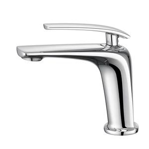洗面蛇口 バス水栓 冷熱混合栓 立水栓 水道蛇口 手洗器水栓 3色 H167.1mm