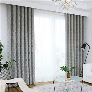 遮光カーテン オーダーカーテン ジャカード チェック 北欧風 寝室 リビング オシャレ(1枚)