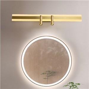 LEDミラーライト 壁掛け照明 スポットライト付 ウォールランプ 化粧室ブラケット
