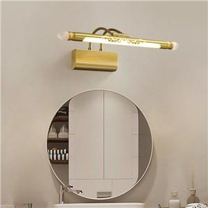 LEDミラーライト 壁掛け照明 ウォールランプ 化粧室ブラケット 角度調整