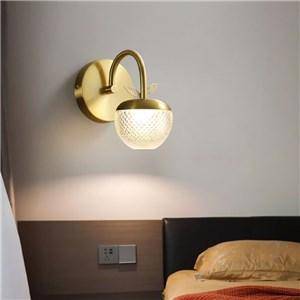LED壁掛け照明 ウォールランプ 化粧室ブラケット 玄関照明 リンゴ型