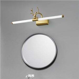 LEDミラーライト 壁掛け照明 化粧室ブラケット ウォールランプ 鹿角型