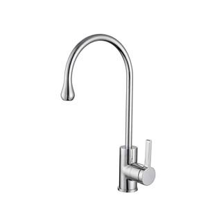 キッチン水栓 台所蛇口 冷熱混合栓 水道蛇口 回転可 3色