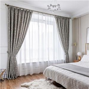 遮光カーテン オーダーカーテン 花柄 捺染 北欧風 寝室 リビング オシャレ(1枚)