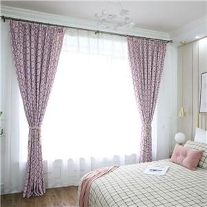 遮光カーテン オーダーカーテン うろこ 捺染 北欧風 寝室 リビング オシャレ(1枚)