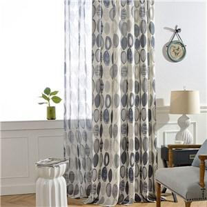 遮光カーテン オーダーカーテン リング 捺染 北欧風 寝室 リビング オシャレ(1枚)