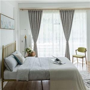 遮光カーテン オーダーカーテン 渦巻 捺染 北欧風 寝室 リビング オシャレ(1枚)