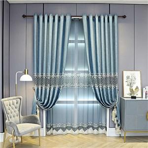 遮光カーテン オーダーカーテン 菱形柄 刺繍 欧米風 寝室 リビング オシャレ(1枚)
