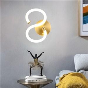 LED壁掛け照明 ウォールランプ ブラケットライト 寝室照明 玄関照明 S型