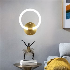 LED壁掛け照明 ウォールランプ ブラケットライト 寝室照明 玄関照明 丸型