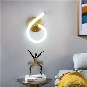 LED壁掛け照明 ウォールランプ ブラケットライト 寝室照明 玄関照明 6字型