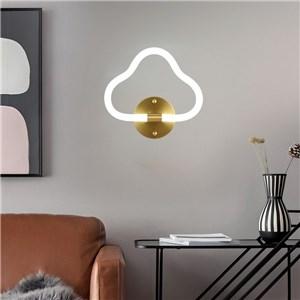 LED壁掛け照明 ウォールランプ ブラケットライト 寝室照明 玄関照明 雲型