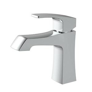洗面水栓 バス蛇口 冷熱混合水栓 水道蛇口 手洗器水栓 5色 H180mm 方形