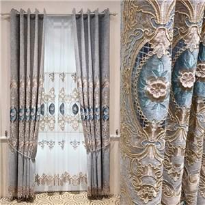 遮光カーテン オーダーカーテン 花柄 欧米風 寝室 リビング オシャレ(1枚)