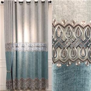遮光カーテン オーダーカーテン 楕円形 北欧風 寝室 リビング オシャレ(1枚)
