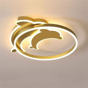 LEDシーリングライト リビング照明 ダイニング照明 子供屋 寝室 居間 イルカ型 LED対応