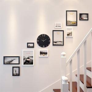 壁掛けフォトフレーム 写真立てセット 額縁 フォトデコレーション 木製 10個セット 北欧風