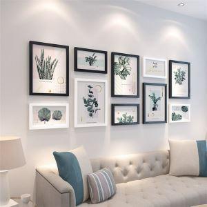壁掛けフォトフレーム 写真立てセット 額縁 フォトデコレーション 木製 10個/12個セット