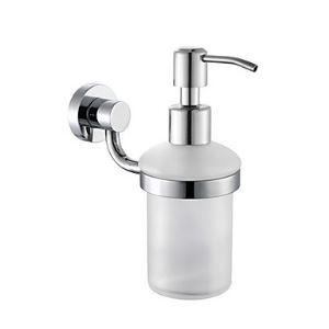 浴室ソープディスペンサーホルダー 真鍮製 クロム