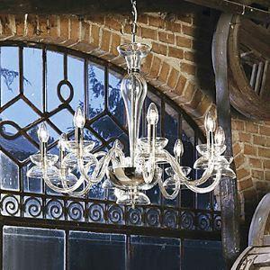 シャンデリア 照明器具 店舗照明 リビング照明 寝室照明 クリスタル オシャレ おしゃれ 8灯 LED電球対応