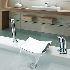 浴槽水栓 バス水栓 シャワー混合水栓 ハンドシャワー付 水道蛇口 滝状吐水口 クロム