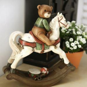 馬&熊の飾りカントリーデザイン