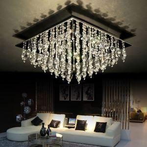 LEDシーリングライト 照明器具 天井照明 リビング照明 クリスタル おしゃれ LED対応 16灯