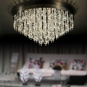 シーリングライト 照明器具 天井照明 リビング用 寝室用 クリスタル付 オシャレ 16灯