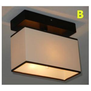 シーリングライト 照明器具 玄関照明 天井照明 田舎風 織物 2灯