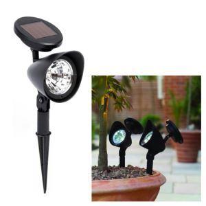 《お買得》LEDソーラーライト ガーデンソーラーライト 庭園灯 地面埋込み式 4灯