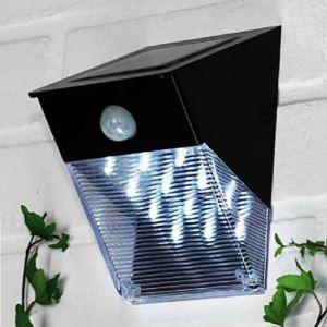 LEDソーラーライト PIRセンサー 人感センサーライト 12灯