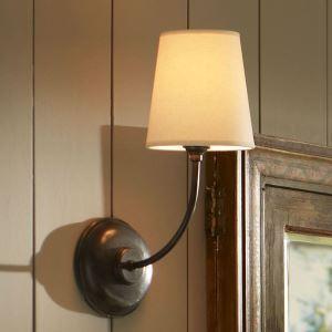 壁掛けライト ウォールランプ ブラケット 玄関照明 北欧風 黒色 1灯
