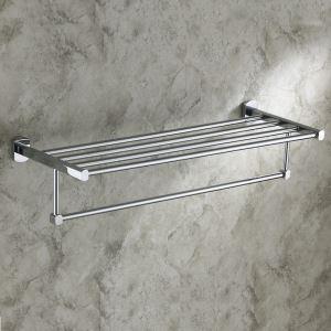 浴室タオルラック タオル掛け タオル収納 壁掛けハンガー バスアクセサリー クロム EB2W2545
