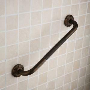 浴室用手すり I形手すり バス用品 滑り止め バスアクセサリー アンティーク調 ブラス色 AB8005