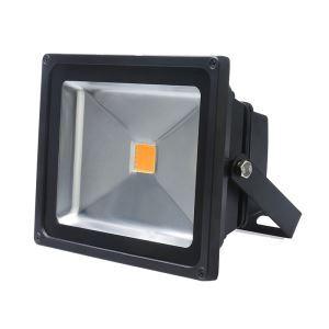 50WLED投光器 作業灯 防犯灯 4500LM 電球色・昼光色 AC85-265V 黒色