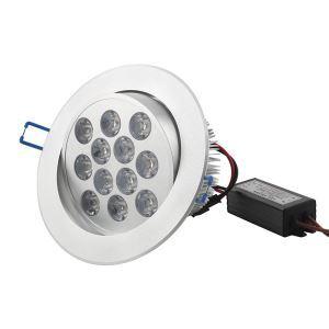 LEDシーリング電球 1000lm 電球色 12W AC85-265V